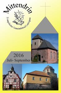 Ev. Gemeindebreif Ludwigsau Mittendrin Referenzen