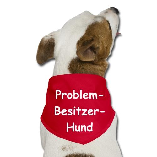 Halstuch-Hunde (Problem...) - Hunde-Bandana - Halstuch für Hunde, dreieckig, 97% Polyester und 3% Baumwolle, Marke: SOL's - Hunde tragen ihr Bandana am liebsten um den Hals gebunden, mit der dreieckigen Fläche wahlweise vorn auf der Brust oder auf dem Rücken. Besonderer Hingucker: wenn Fiffi's Bandana optisch mit Frauchens oder Herrchens Outfit harmoniert. Kantenlängen: 75 x 50 x 50 cm. 80% Polyester und 20% Baumwolle.