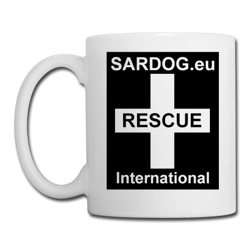 """SARDOG - Rescue International - Tasse, aus Keramik, Marke: groener - """"SARDOG - Rescue International"""" - sponsored article Gehört auf jeden Frühstückstisch: Kaffepott aus weißer Keramik mit bequem großem Henkel für zwei bis drei Finger. Kann wahlweise auch mit Tee, Milch oder Glühwein gefüllt werden. Der Aufdruck ist absolut spülmaschinenfest!"""